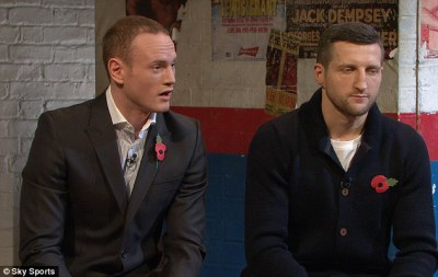 Froch and Groves on RingSide